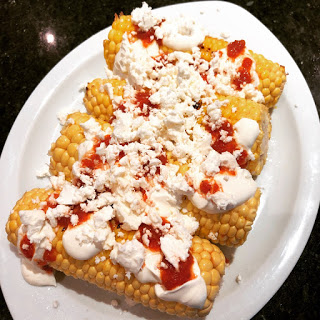 Mexican Charred Corn (Elote) by Cookin' Elle